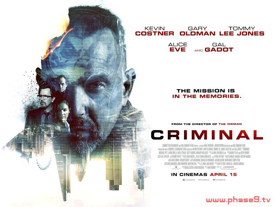 Criminal (2016) u2013 Phase9 Entertainment