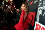 Dawn Olivieri attends the Premiere of DEN OF THIEVES