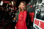 Dawn Olivieri attends the Los Angeles Premiere of DEN OF THIEVES