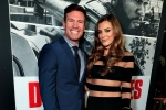 Nate Boyer and guest attend the Los Angeles Premiere of DEN OF THIEVES