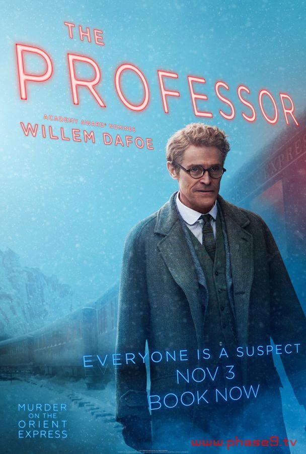 Murder on the Orient Express - Willem