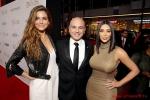 Maria Menounos + Kim Kardashian