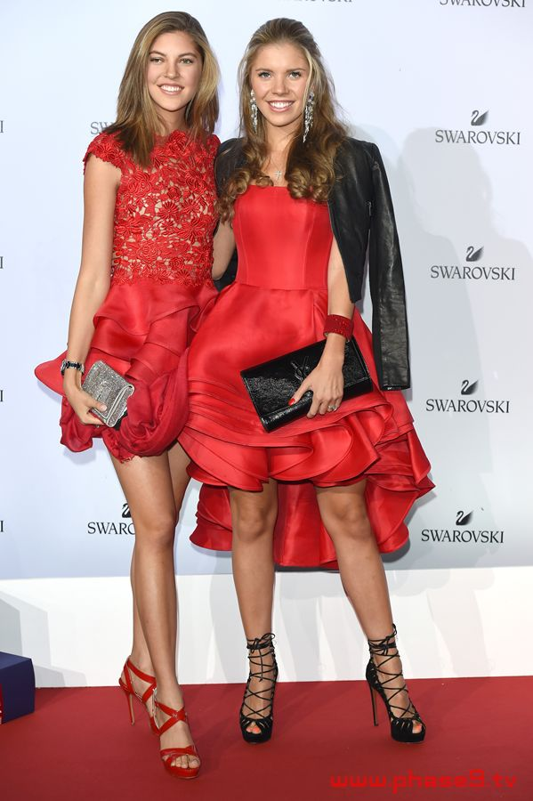 Swarovski Crystal Wonderland Party Victoria Swarovski and Paulina Swarovski