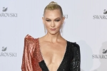 Swarovski Crystal Wonderland Party Karlie Kloss