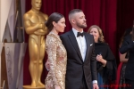 Justin Timberlake, arrives with Jessica Biel