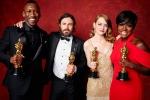Mahershala Ali, Casey Affleck, Emma Stone and Viola Davis