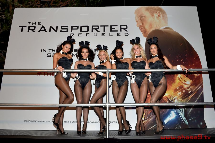 The Transporter Refueled - Playboy Bunnies