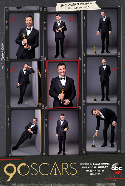 90th Academy Awards Jimmy Kimmel