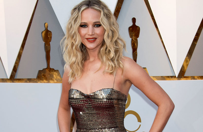 90th Oscars Jennifer Lawrence