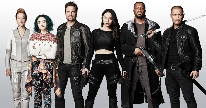 Dark Matter season 3 cast