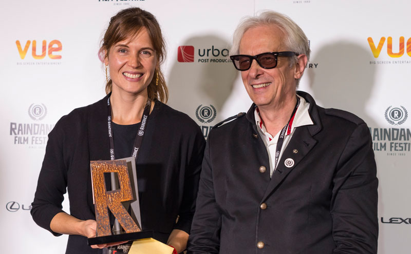 Jeannie Donohoe and Elliot-Grove founder of Raindance