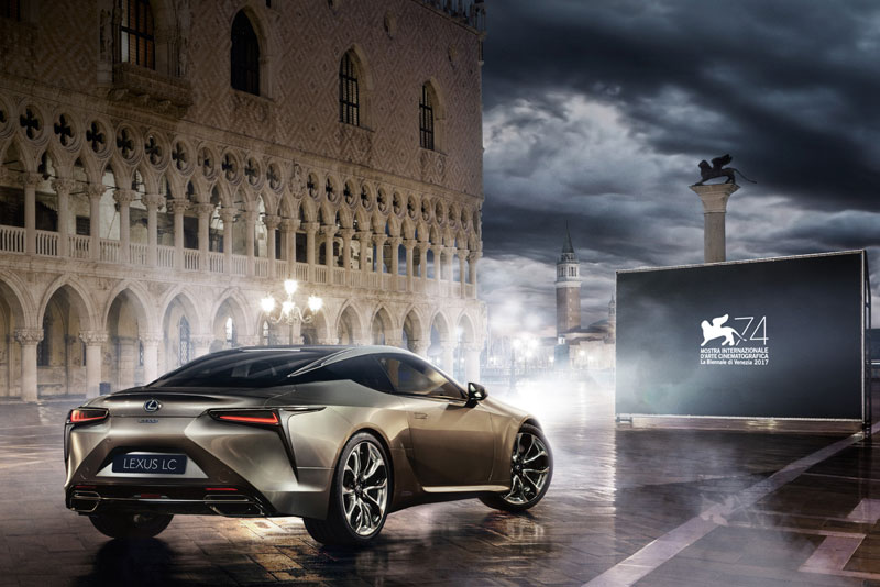 Lexus Becomes A Main Sponsor Of The 74th Venice International Film Festival
