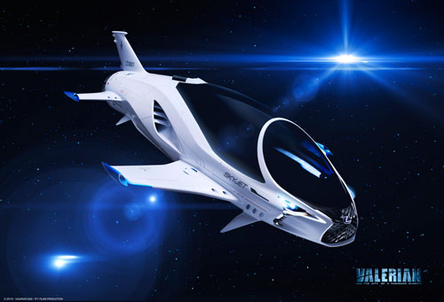 Lexus SKYJET for Valerian and the City of a Thousand Planets