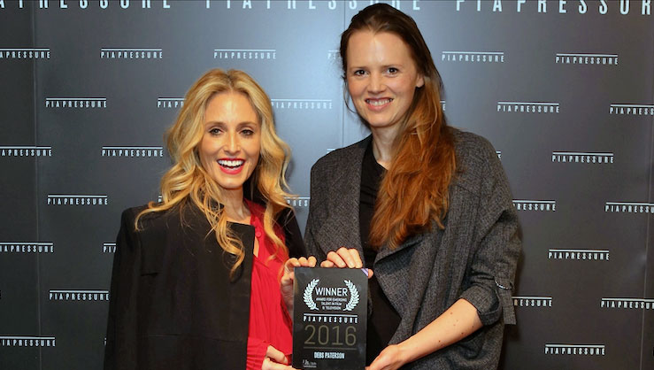 Pia Getty and Debs Paterson (2016 winner)
