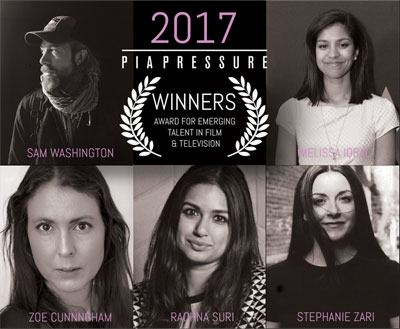 Pia Pressure Award Winners