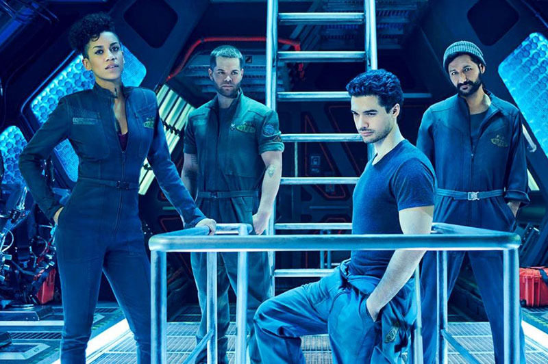 The Expanse - Steven Strait, Cas Anvar, Wes Chatham, Dominique Tipper