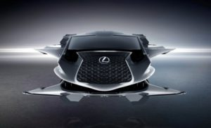 Lexus Jet Stars In Men In Black: International