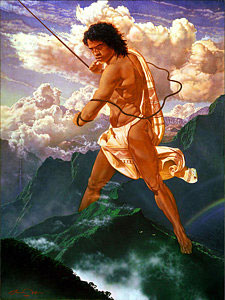Maui the Hawaiian demigod Thomas Christian Wolfe