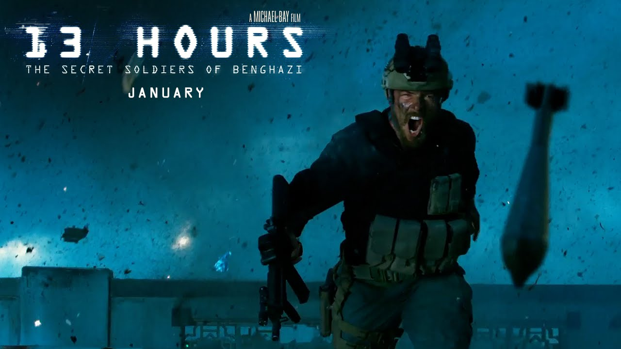 13 Hours: The Secret Soldiers of Benghazi – Trailer #2 RED BAND (2016) – Paramount Pictures