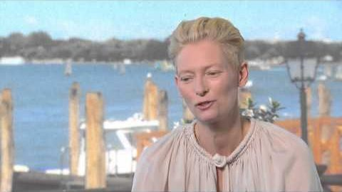 A BIGGER SPLASH Featurette: Tilda Swinton