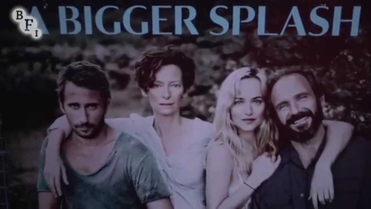 A BIGGER SPLASH – LFF 2015 Premiere – Red Carpet coverage