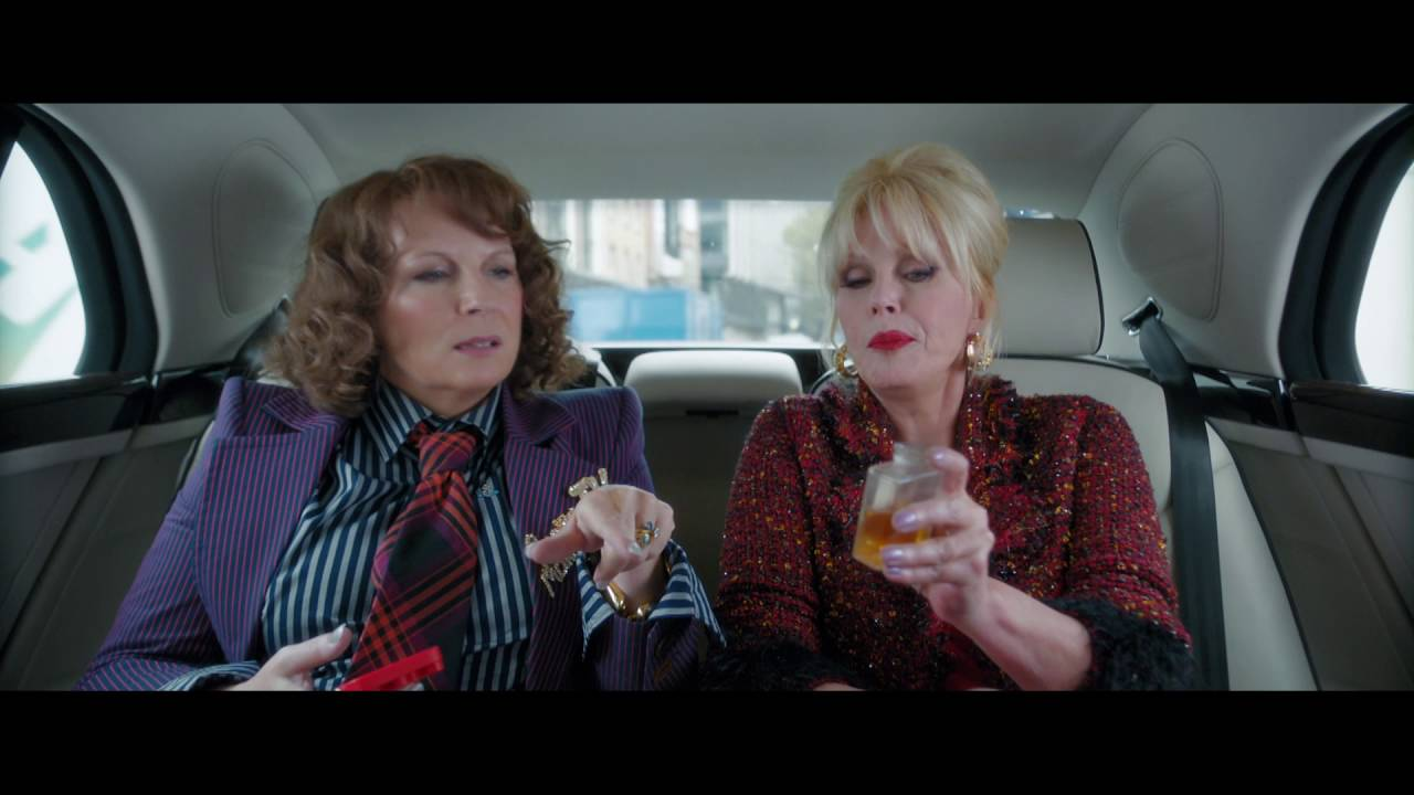 "ABSOLUTELY FABULOUS THE MOVIE TV Spot: ""Outrageous"""