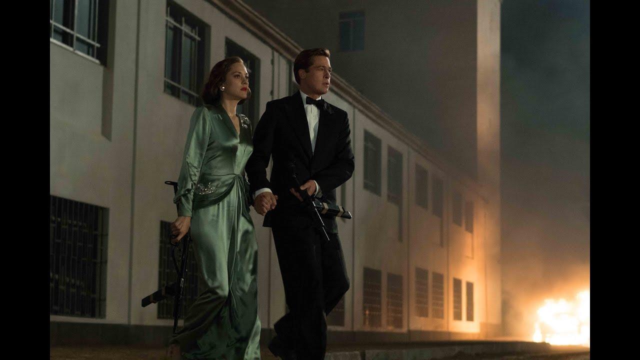 Allied | Brad Pitt & Marion Cotillard | Paramount Pictures UK