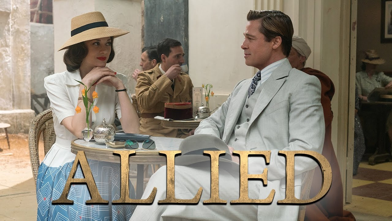 Allied | Official Trailer #1 | UKParamountPictures
