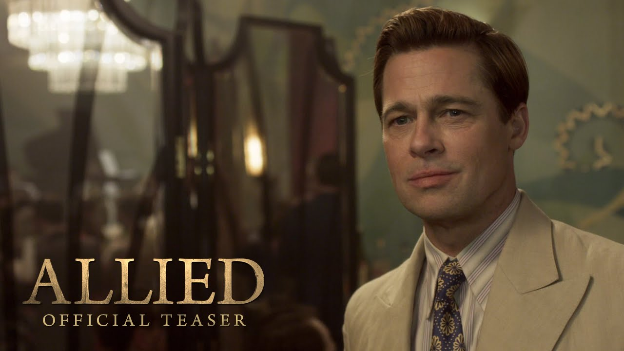 Allied Teaser Trailer (2016) – Paramount Pictures