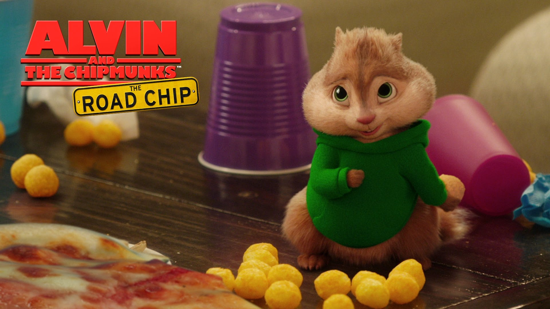 "Alvin and the Chipmunks: The Road Chip | ""Pizza Toots"" Lyric Video [HD] 