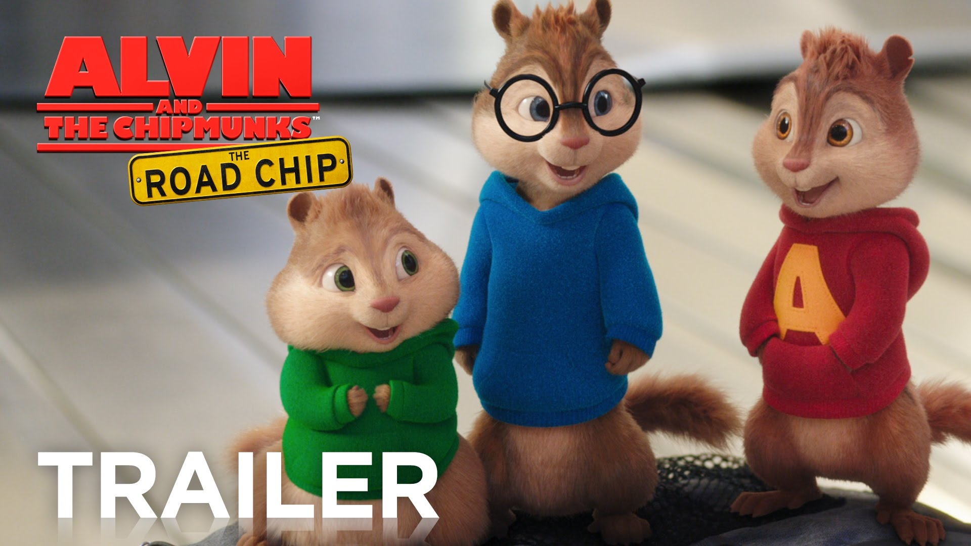 Alvin and the Chipmunks: The Road Chip | Official Trailer 2 [HD] | 20th Century FOX