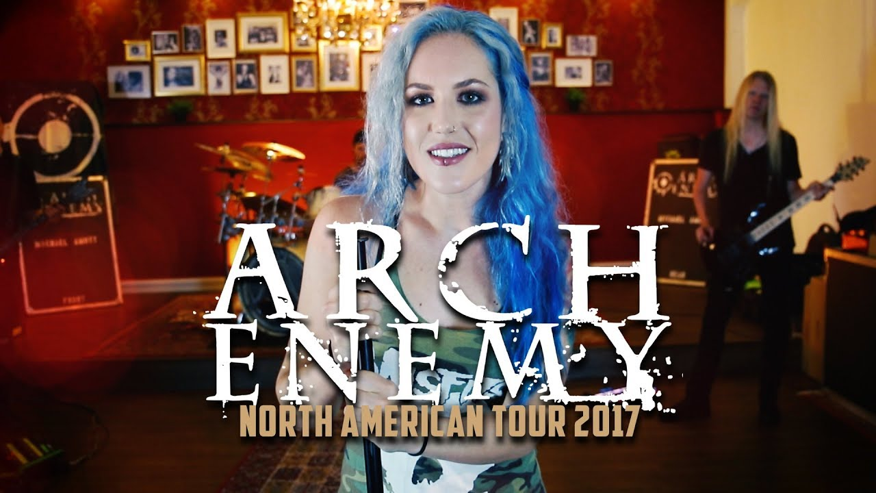 ARCH ENEMY – Will To Power (Tour Trailer)