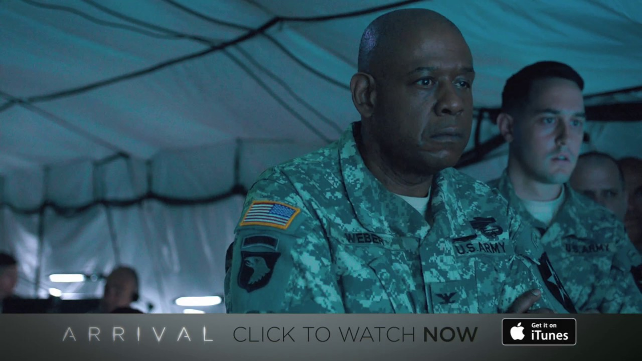 ARRIVAL – WATCH NOW ON iTUNES