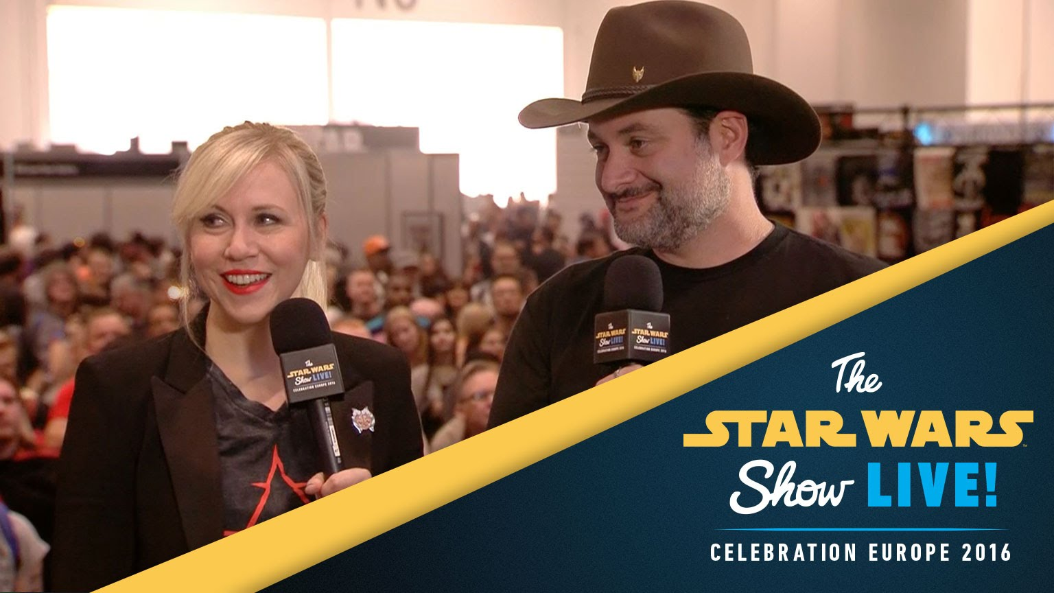 Ashley Eckstein and Dave Filoni Interview  | Star Wars Celebration Europe 2016