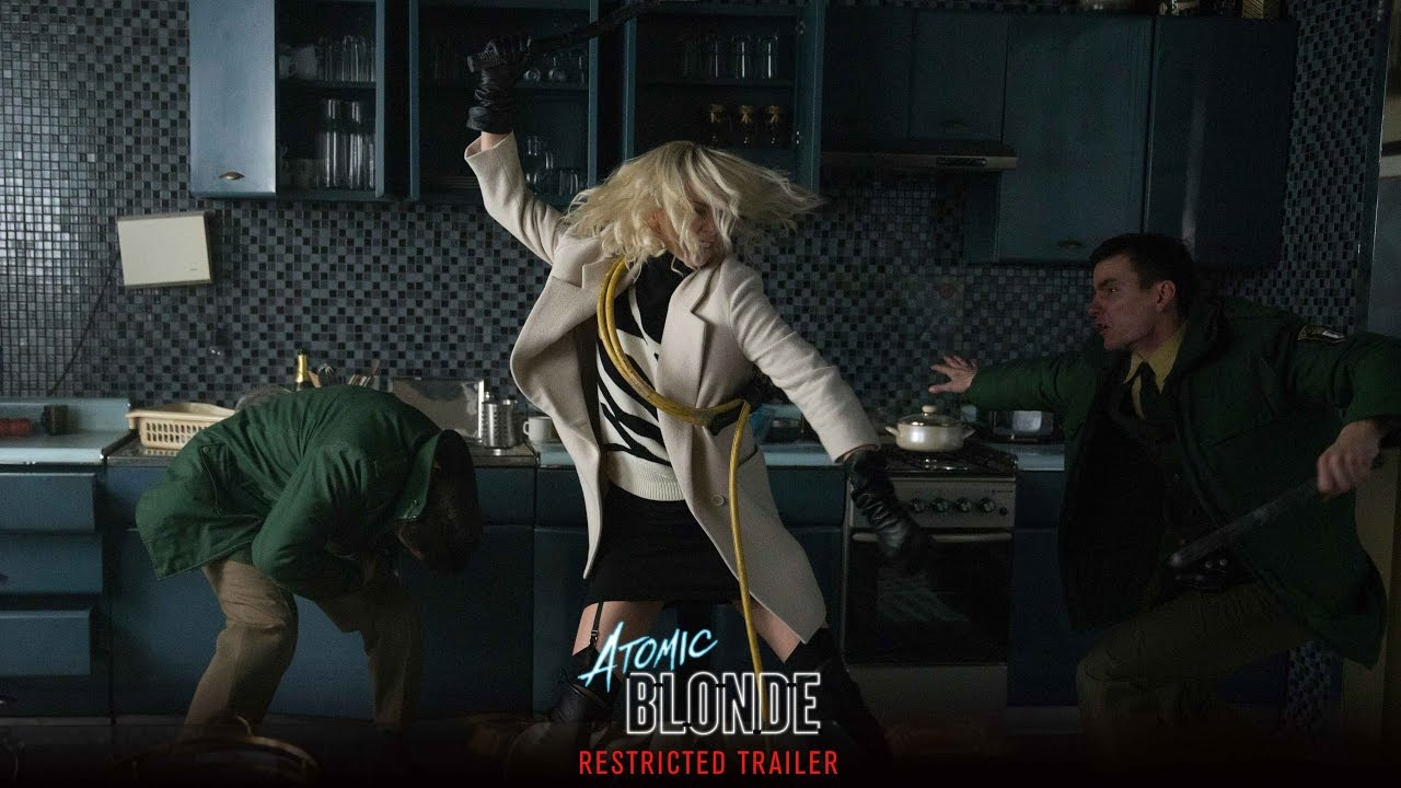 Atomic Blonde –  Restricted Trailer [HD]