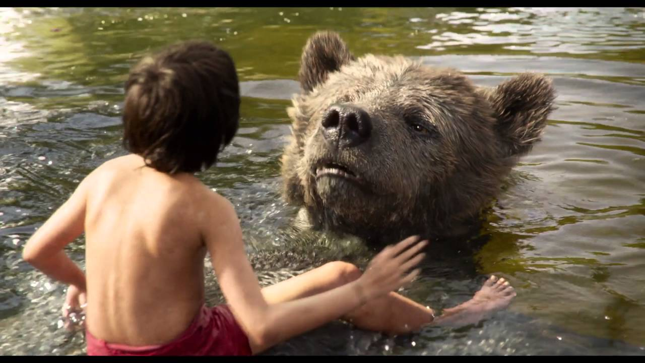 """Bare Necessities"" Clip – Disney's The Jungle Book"