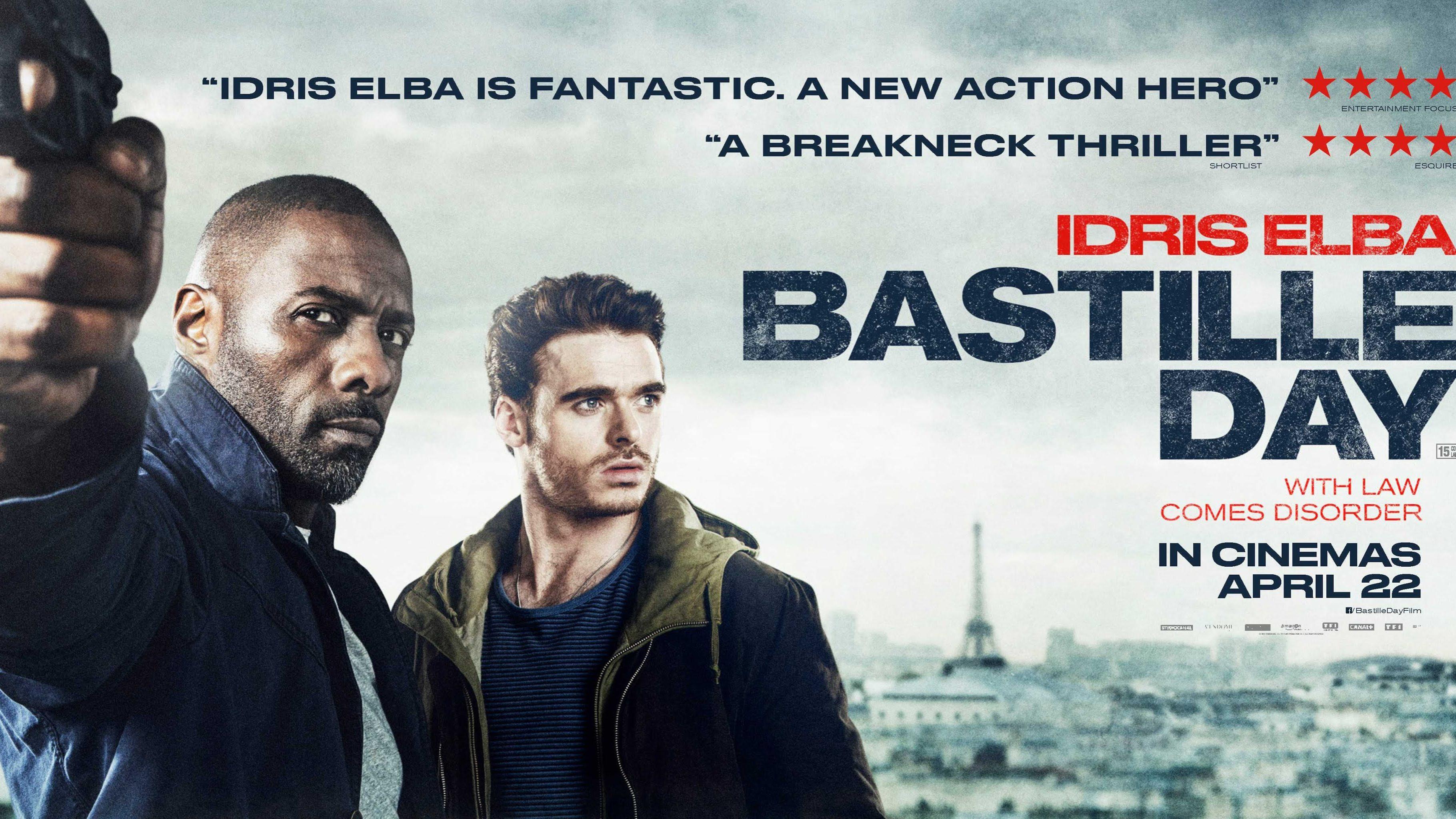 BASTILLE DAY – TV Spot #1 – In Cinemas April 22
