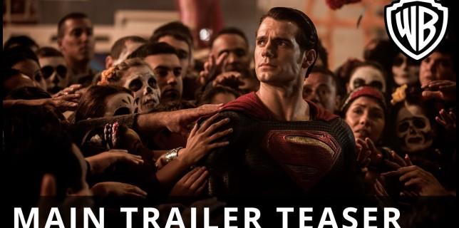 Batman v Superman: Dawn Of Justice – Main Trailer Teaser – Official Warner Bros. UK