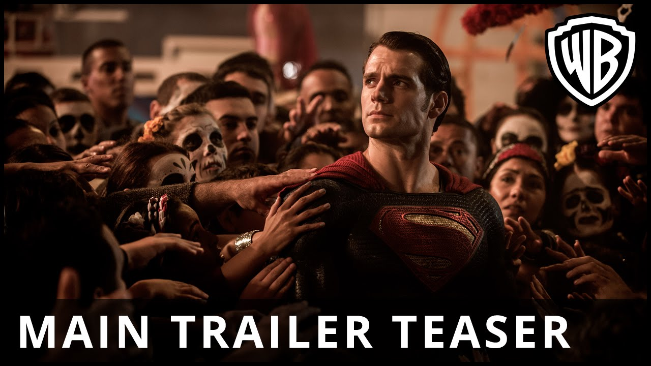 Batman v Superman: Dawn Of Justice – Main Trailer Teaser – Official Warner Bros. UK