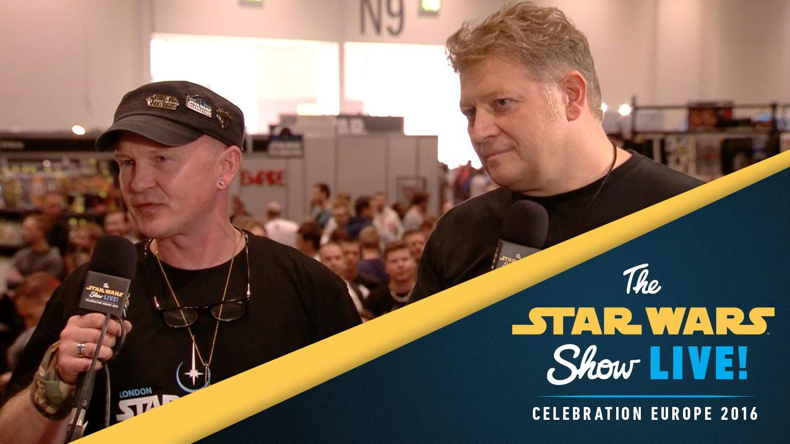 Belgium Prop Builders Interview | Star Wars Celebration Europe 2016