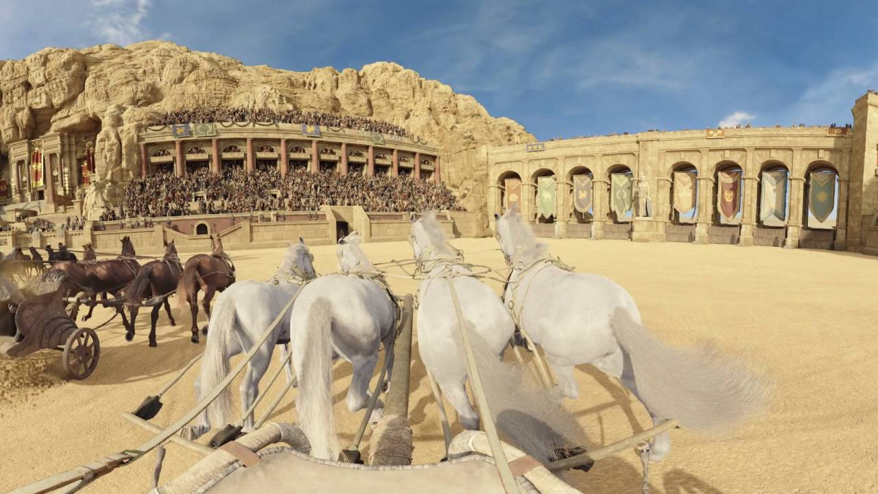 BEN-HUR (2016) – Chariot Race 360° Video – Paramount Pictures