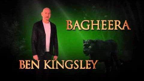 Ben Kingsley is Bagheera – Disney's The Jungle Book