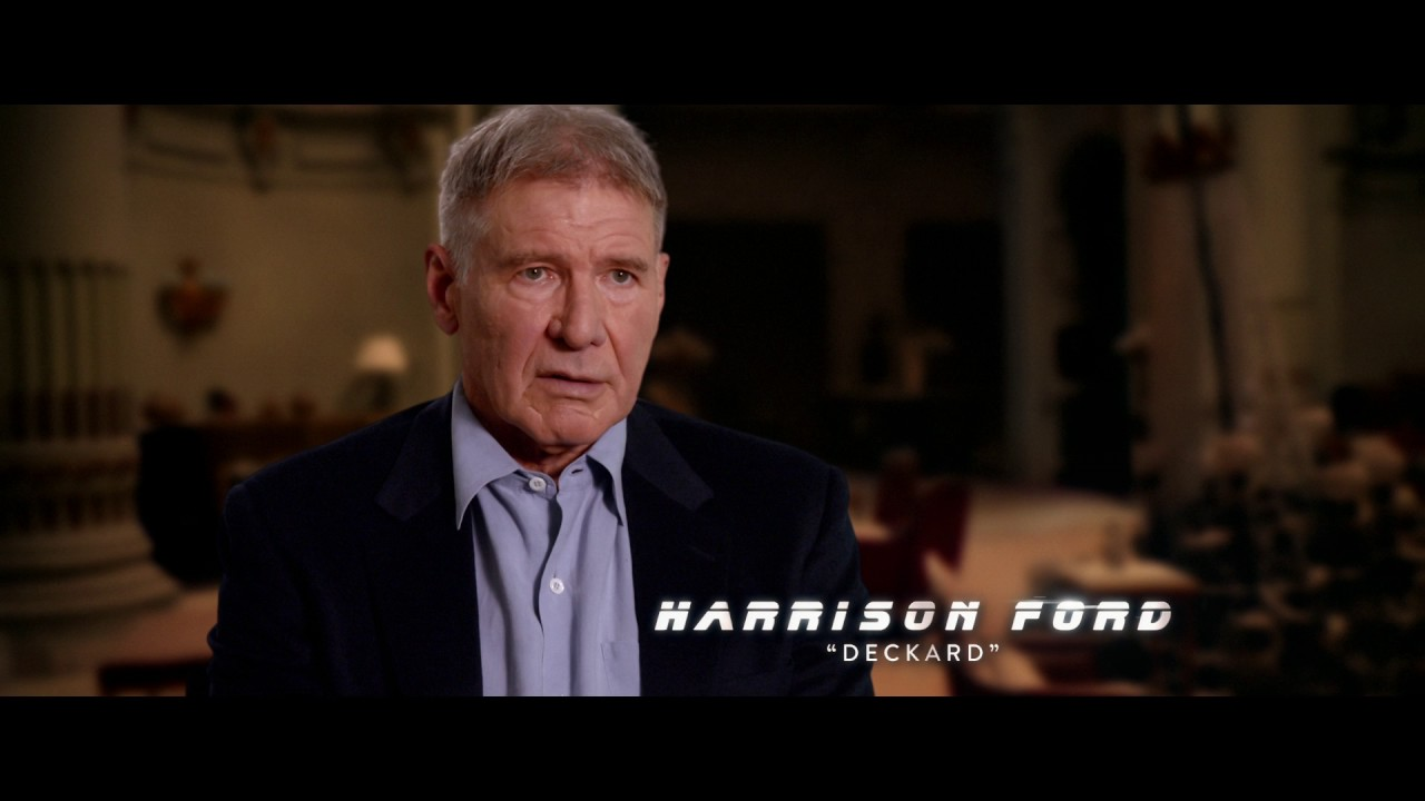 BLADE RUNNER 2049 – Harrison Ford Featurette