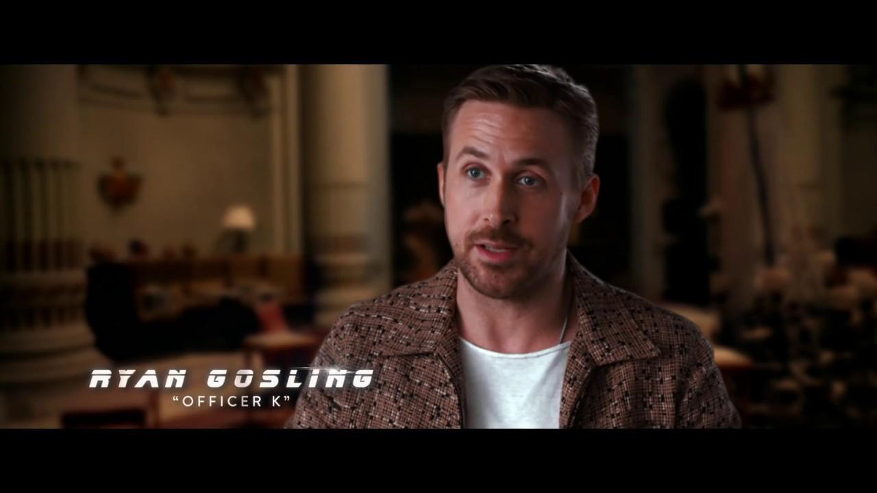 BLADE RUNNER 2049 – Ryan Gosling Featurette