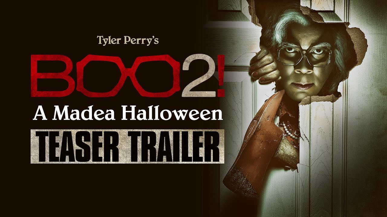 "Boo 2! A Madea Halloween (2017 Movie) Official Teaser Trailer ""Peek-A BOO BOO!"" – Tyler Perry"
