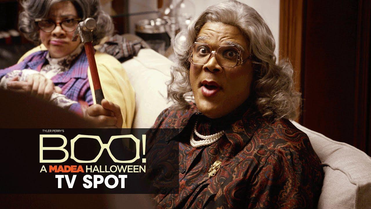 Boo! A Madea Halloween (2016 Movie – Tyler Perry) Official TV Spot – 'Terrifying'