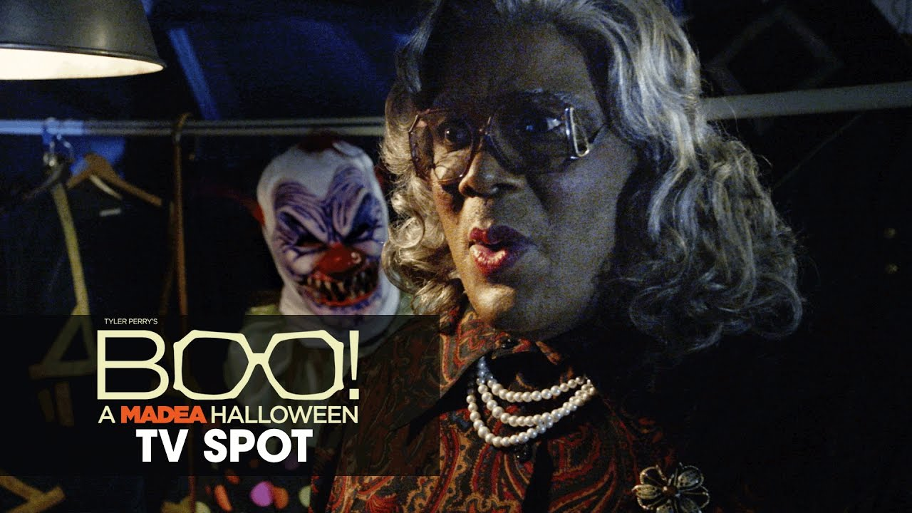 Boo! A Madea Halloween (2016 Movie – Tyler Perry) Official TV Spot – 'Scared'