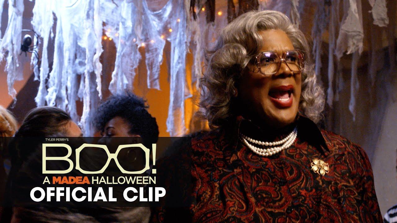 Boo! A Madea Halloween (2016 Movie – Tyler Perry) Official Clip – 'Bottom Half'