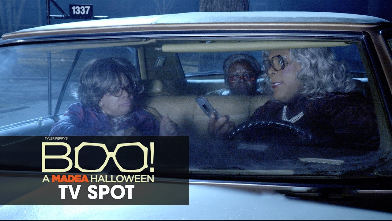 Boo! A Madea Halloween (2016 Movie – Tyler Perry) Official TV Spot – 'Recording'