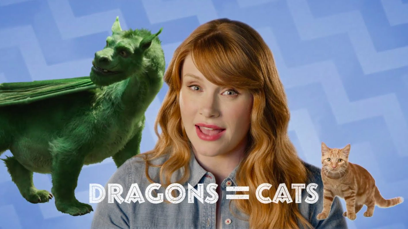 """Bryce Dallas How-To"" with Bryce Dallas Howard – Dragon Cat Costume!"